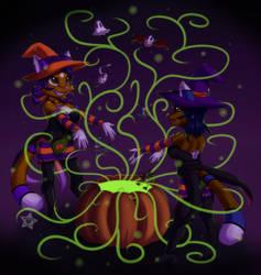 Halloween Spirits by CaramelKitt