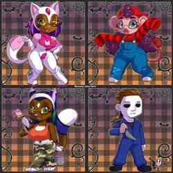 Halloween Chibis '19 1