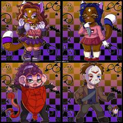 Halloween Chibis '20