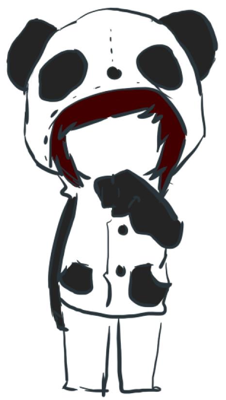 Panda Alex by PurpleMuffinz