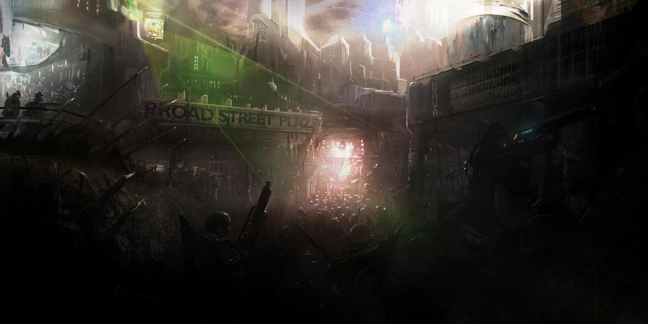 Plaza Revolution by jonnyshaw