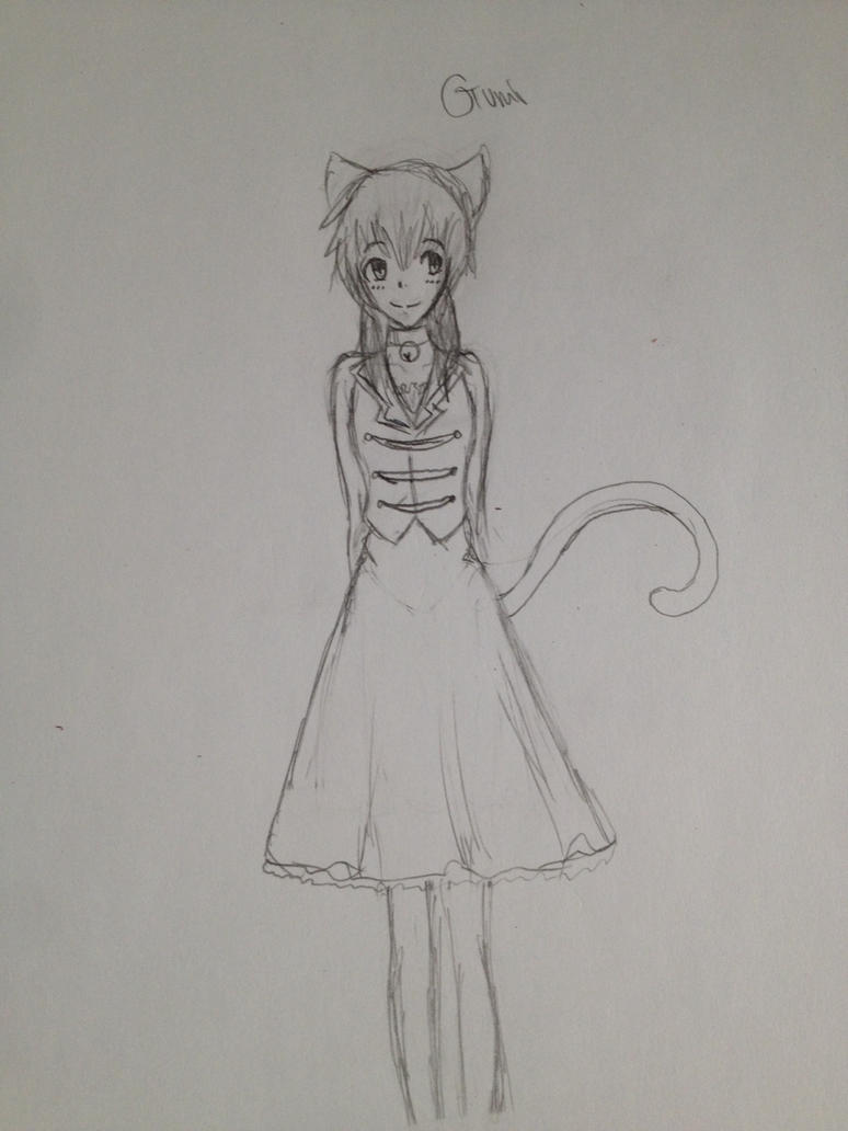 Gumi sketch by Phantomhivelen