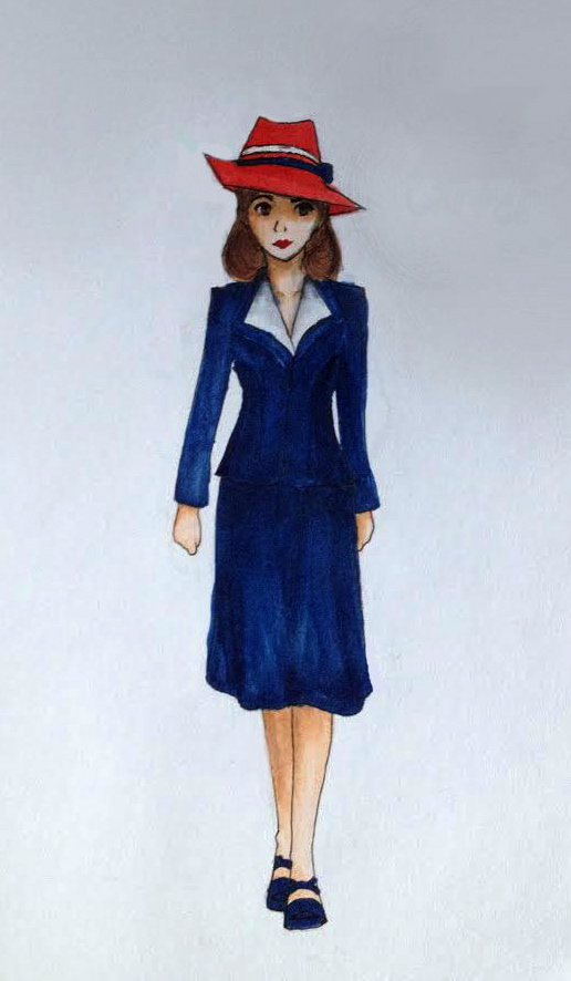 Peggy Carter by Phantomhivelen