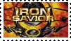 Iron Savior stamp by vitaminanime