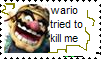wario tried to kill me stamp by vitaminanime