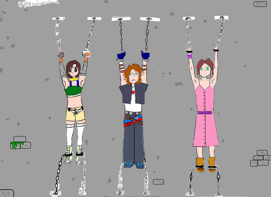 vincent valentine and yuffie   ... Cid Highwind, Yuffie ...   Yuffie And Aerith