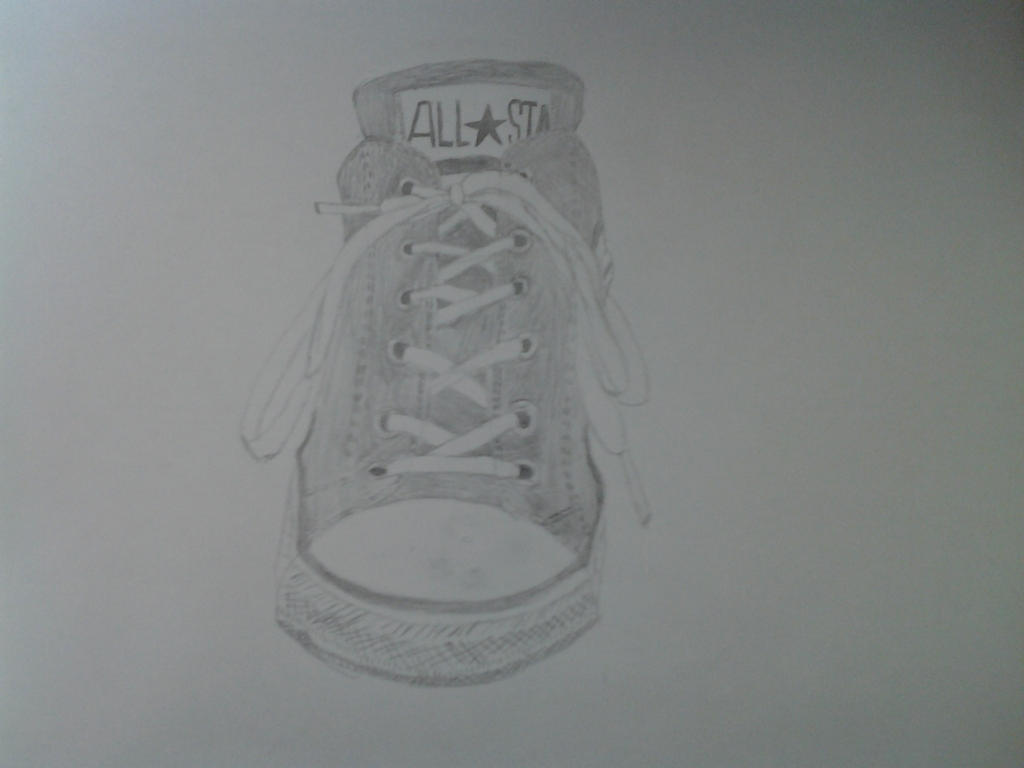 Converse Sketch by vitaminanime