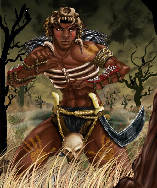 Mama Africa by traydaripper