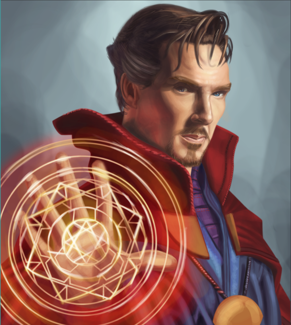 Dr Strange by traydaripper