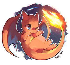 Charizard by foxlett