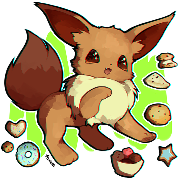 Eevee By Foxlett On DeviantArt