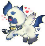 Absol Chibi by foxlett