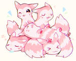 Pile o' Furrets by foxlett