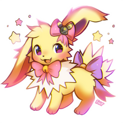 Jolteon Chibi by foxlett