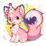 Birthday fox!