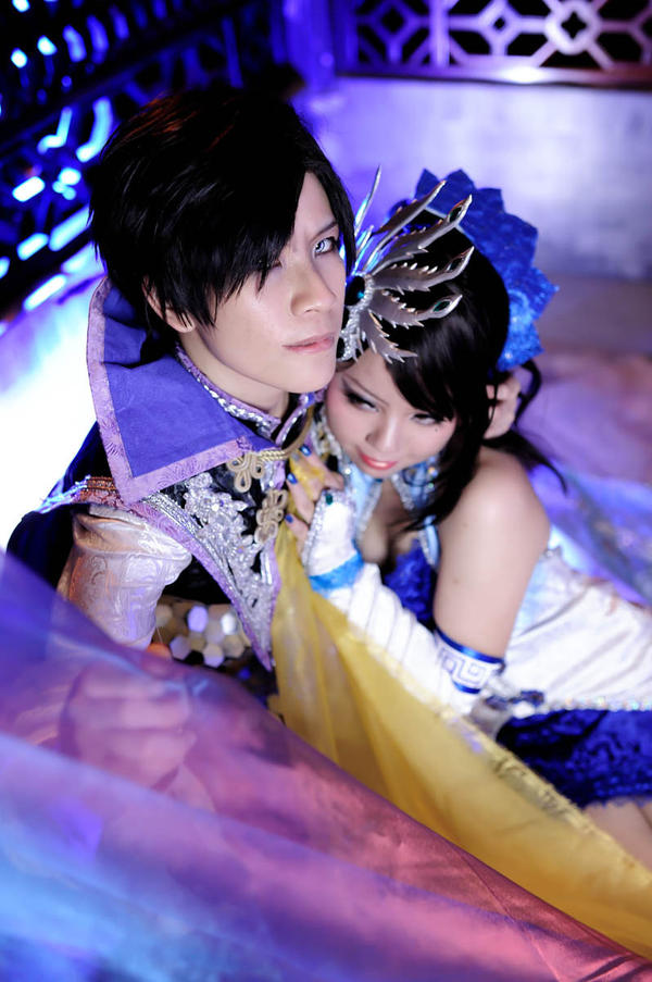 Cao Pi and his Wife by maocosplay