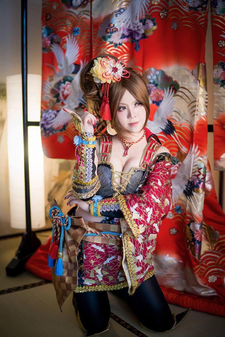 Kai hime from Samurai Warriors 4 by maocosplay