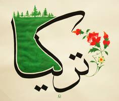 Arab Calligraphy  TURKEY