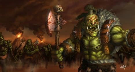 Orc War by grenias