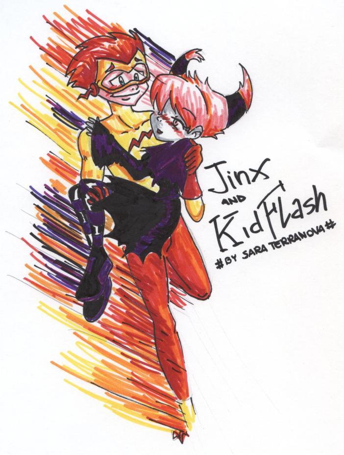 BUSCO, BUSCO UNA IMPRESIÓN  [VS VS} KidFlash_and_Jinx_by_sucker1317sfiga