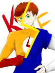Kid flash is Wally West