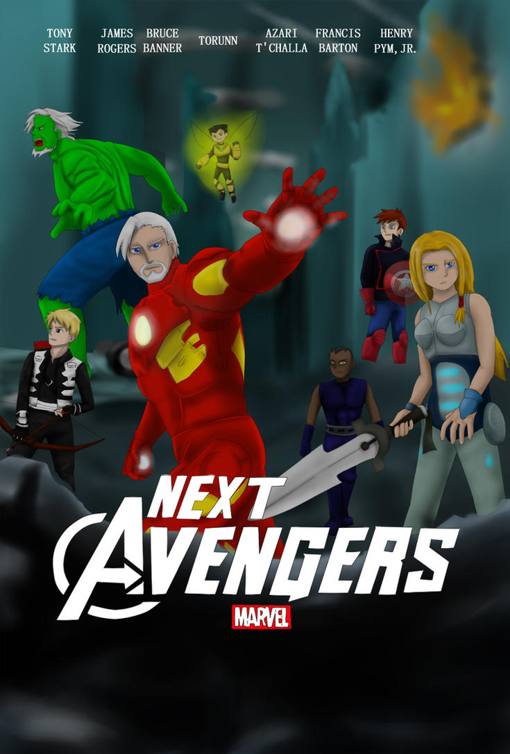 Next avengers movie poster by young rain on deviantart for Tour avengers
