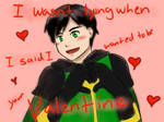 Valentine sketch thing kid loki