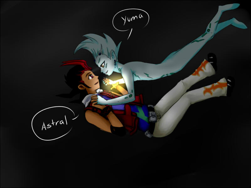 Yuma X Astral L: Light In The Darkness (keyshipping) By Young-rain On
