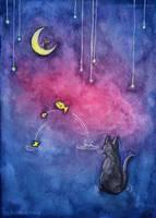 Cat's Night by Balafenn-noz