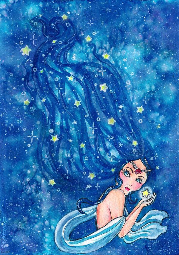 Little star by Balafenn-noz