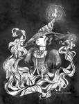 04 - Candle Witch by Marion-Aurore
