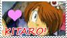 GeGeGe no Kitaro LOVE stamp by Schreibaby-Zephyr