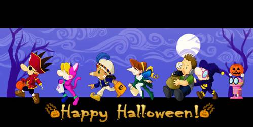 SBK Happy Halloween! by Schreibaby-Zephyr