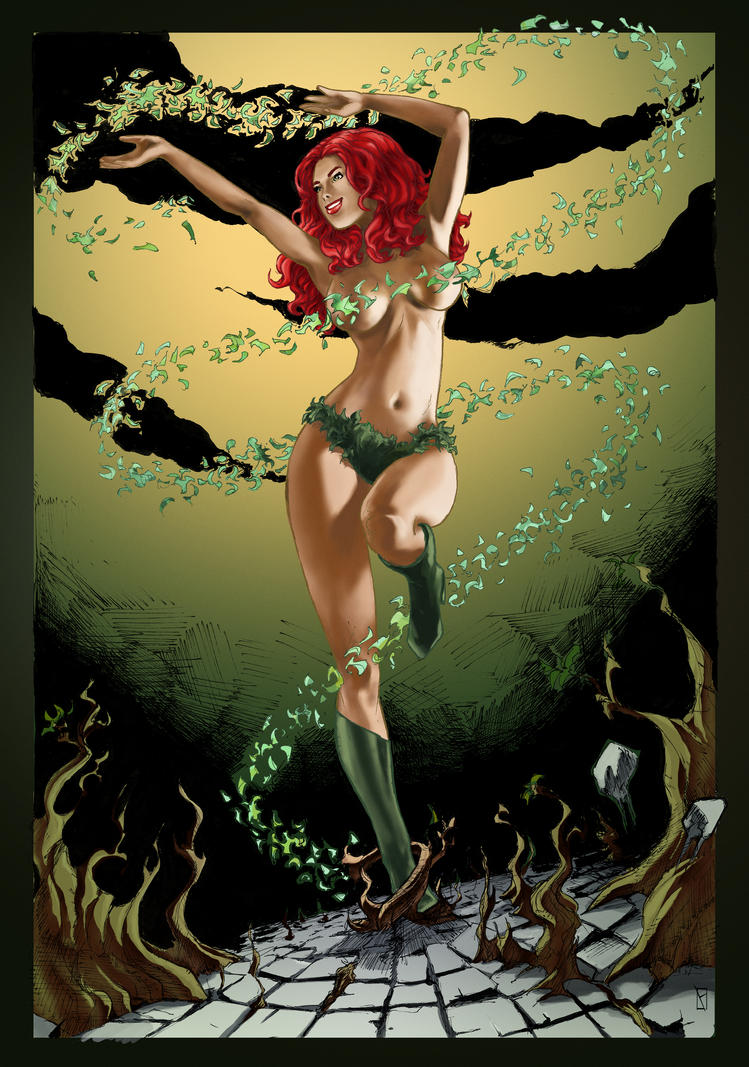 Poison Ivy colo by syr1979