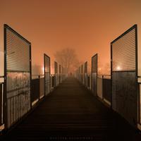 Night on the bridge by Alshain4