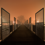 Night on the bridge