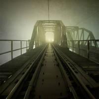 Night on the bridge II by Alshain4