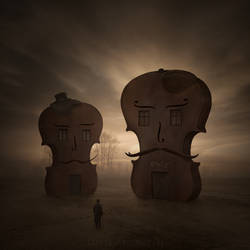 Violin Village by Alshain4