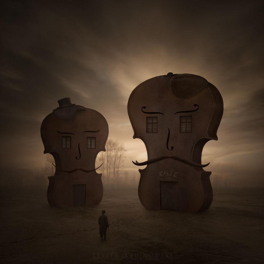 Violin Village by Alshain4