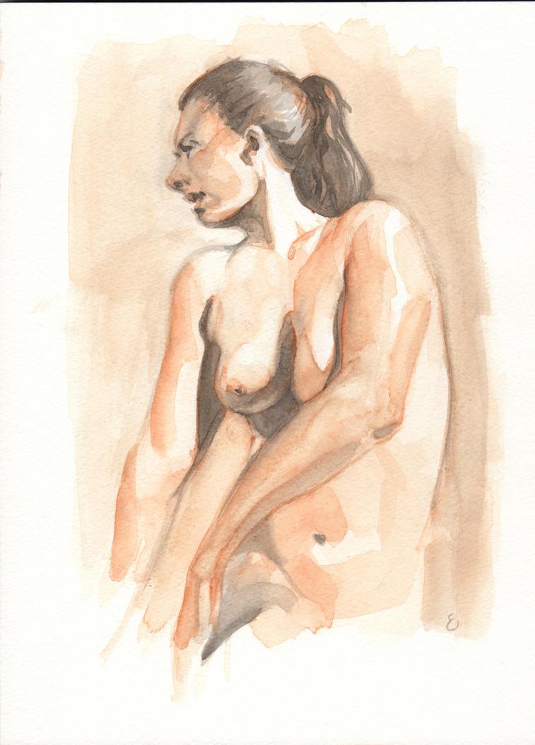 Figure Study by Michael-Ellis