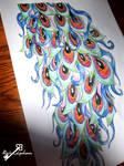 Flapper girl tattoo request design(second half A3) by RosieColquhoun