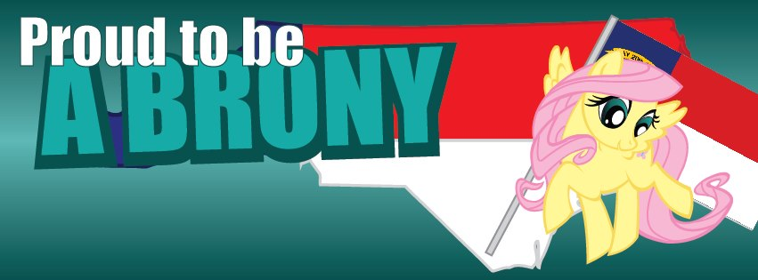 NCB Facebook Cover Photos - Brony, Fluttershy by elvisshow