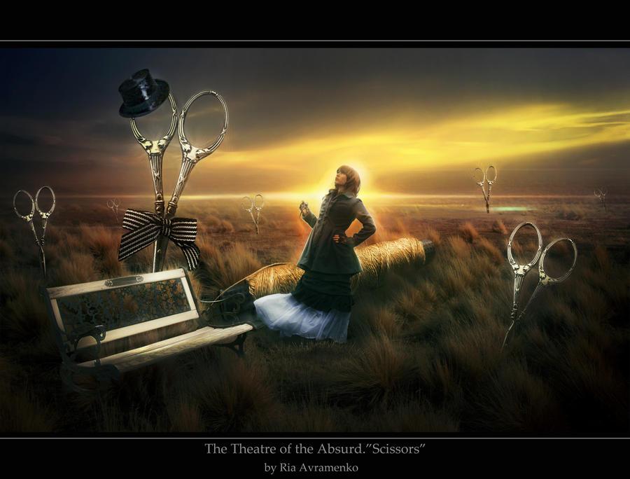 Theatre of the Absurd.Scissors by skyLion89 on DeviantArt