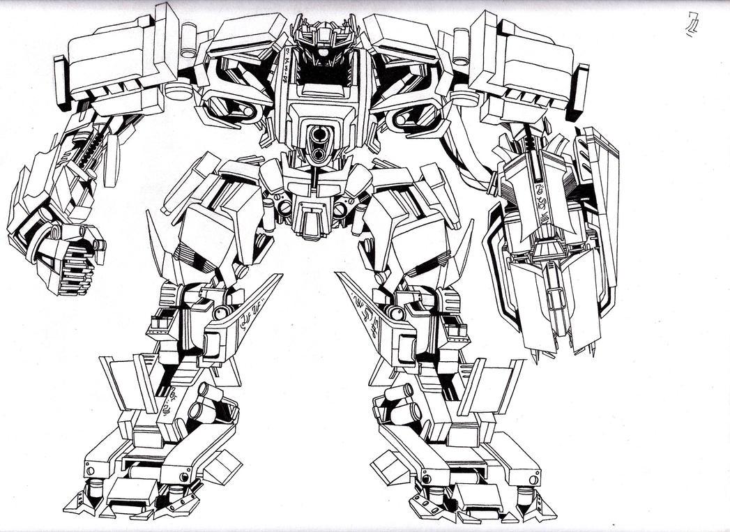 Disegni Da Colorare Transformers 5 Bambini Transformers Coloring