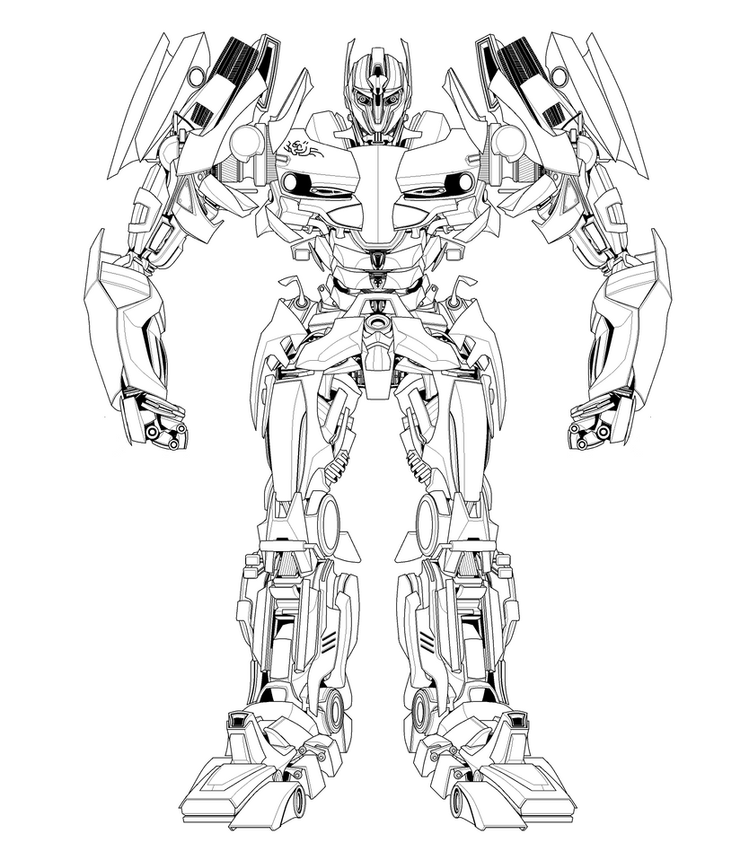 Sentinel prime coloring pages coloring pages for Transformers sentinel prime coloring pages