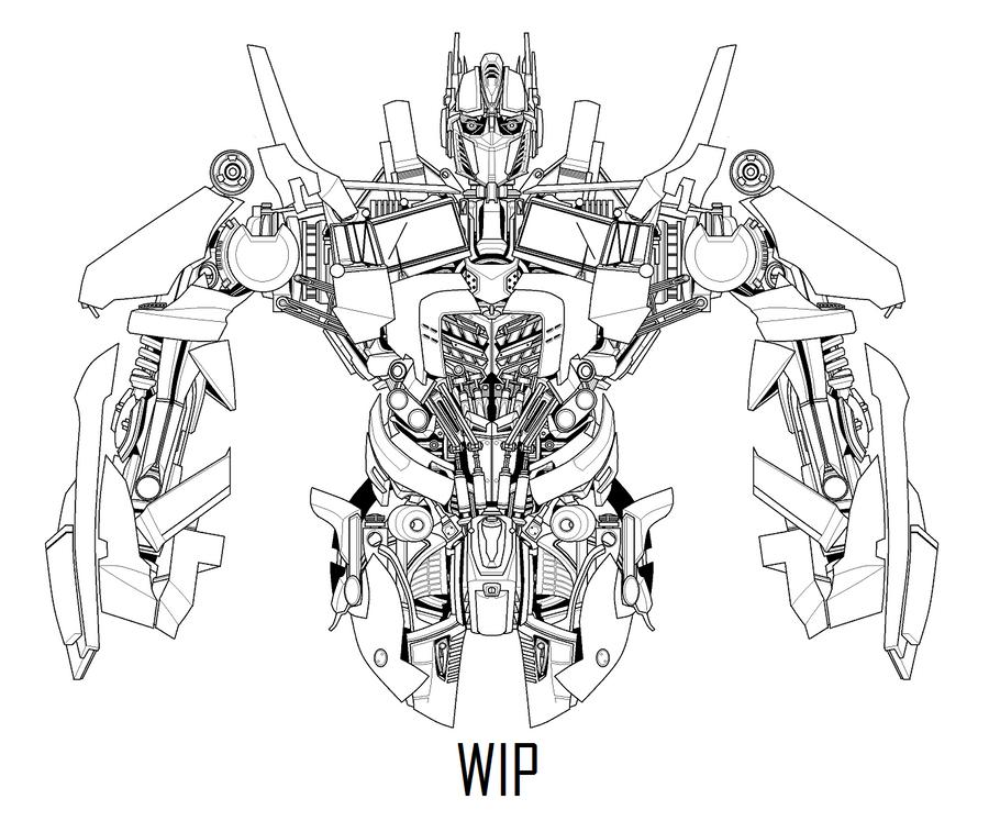 optimus prime update 3 by hybridmode on DeviantArt