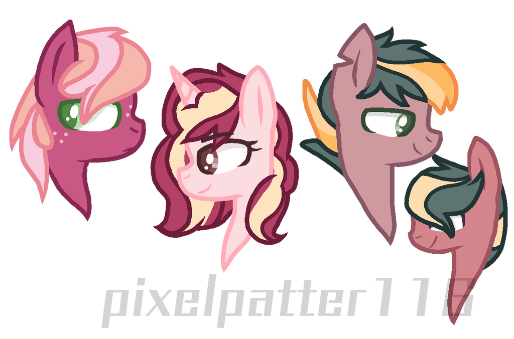 Mlp next gen: big mac's kids (help me name them!!) by Oixie