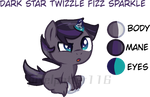 Mlp next gen: dark star twizzle fizz sparkle