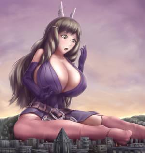Giantess Sumia (Commission)