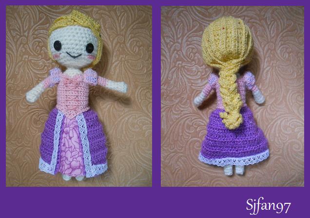 Rapunzel for Yuki87 by SJFan97